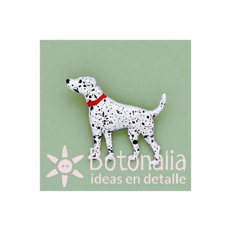 Button Dalmatian dog