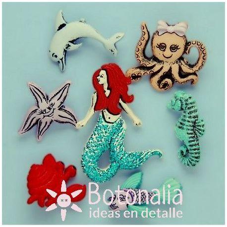 Dress-it-Up - Mermaids