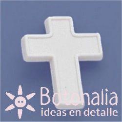 Cross in white 21 mm