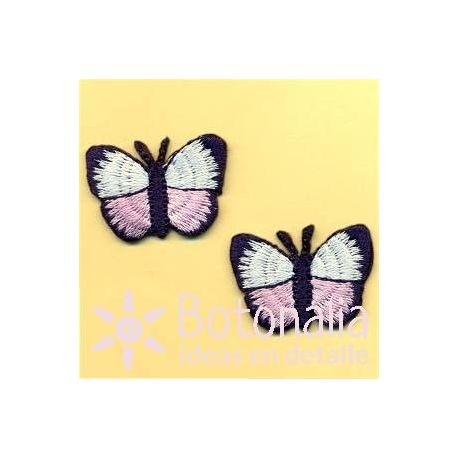 White and pink butterflies