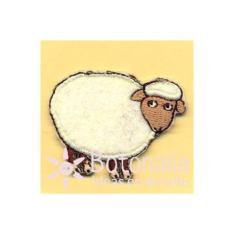 Sheep in white