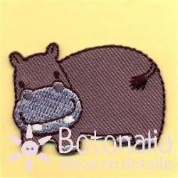 Cachorro de hipopótamo