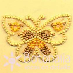 Mariposa amarilla