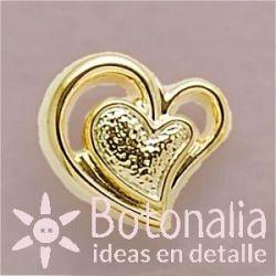 Corazón dorado 2