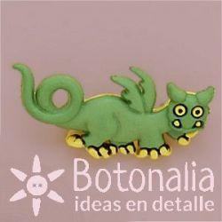 Monstruo dragón verde