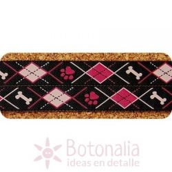Cinta Black/Pink Doggy Argyle