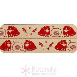 Ribbon Cat & Mouse