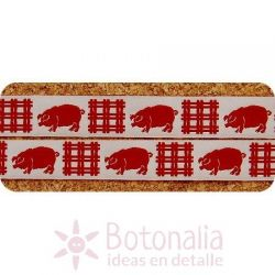 Ribbon red Pig