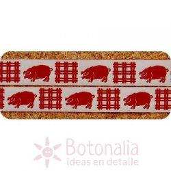 Ribbon red Pig