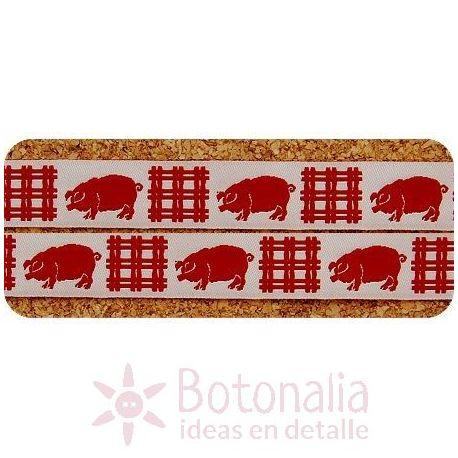 Cinta Red Pig