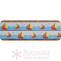 Ribbon Sailboat