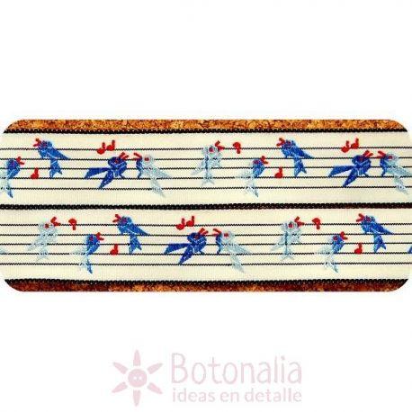 Cinta Blue Singing Bird