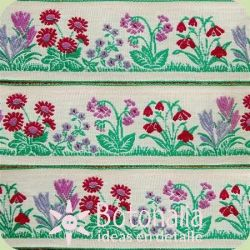 Ribbon Garden with flowers