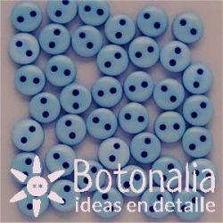 Botones azules 6 mm
