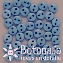 Buttons in blue 6 mm