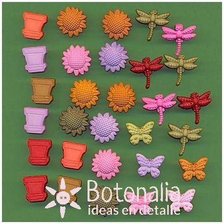 Tiny Buttons - Tiny Garden