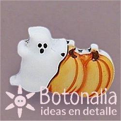 Fantasma con calabazas