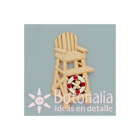 Embellishment lifeguard chair