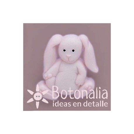 Button pink bunny