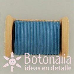 Spool of thread in blue