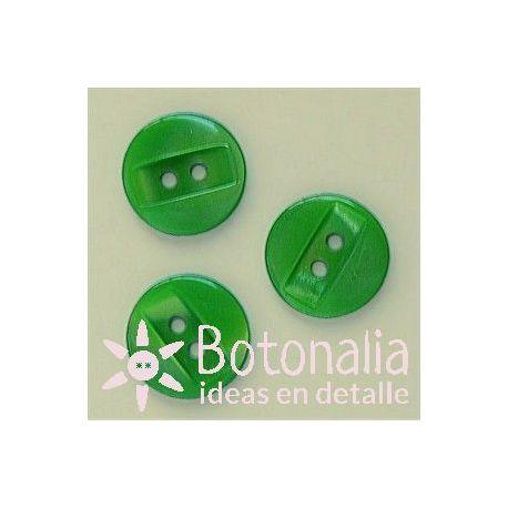 Veteado con rectángulo 14 mm verde