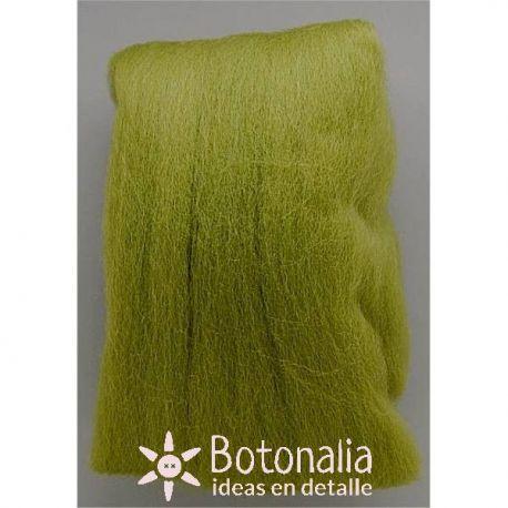 Wool in wick 20 grs. Mossy green