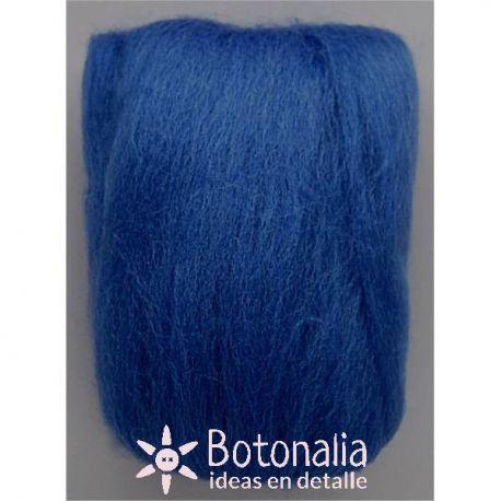 Wool in wick 20 grs. Blue