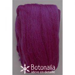 Wool in wick 20 grs. Purple