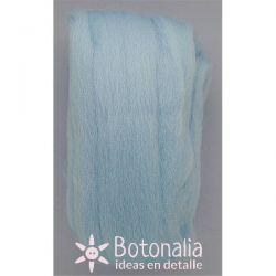 Wool in wick 20 grs. Light blue