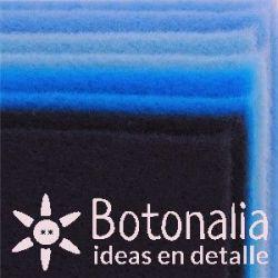 8 Felt sheets DINA4 - Blue colors