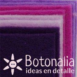 8 Felt sheets DINA4 - Purple colors