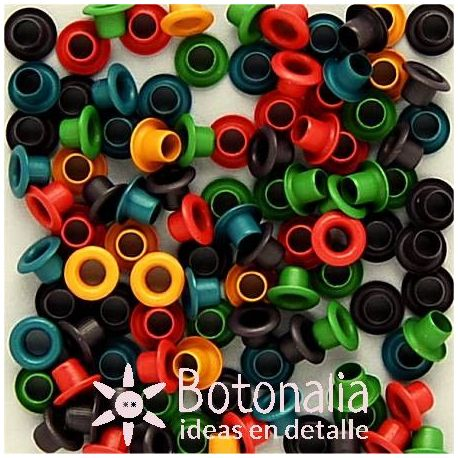 Eyelets rounds - Muted