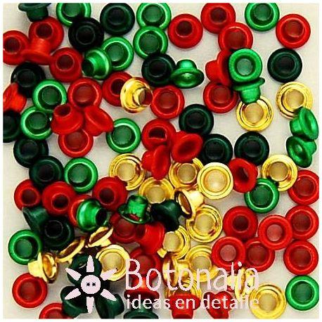 Eyelets rounds - Christmas