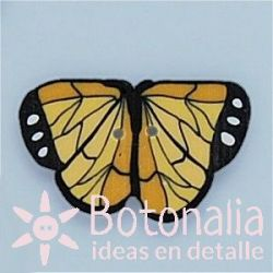 Mariposa Monarca 23 mm