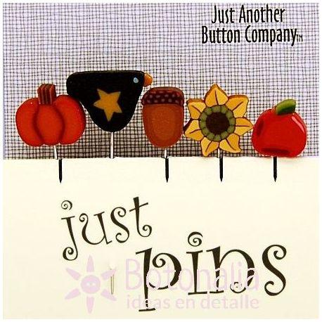 Just Pins - Autumn