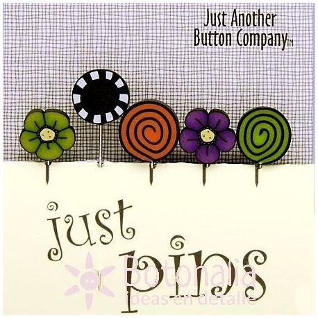 Just Pins - Midnight garden