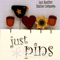Just Pins - Harvest heart