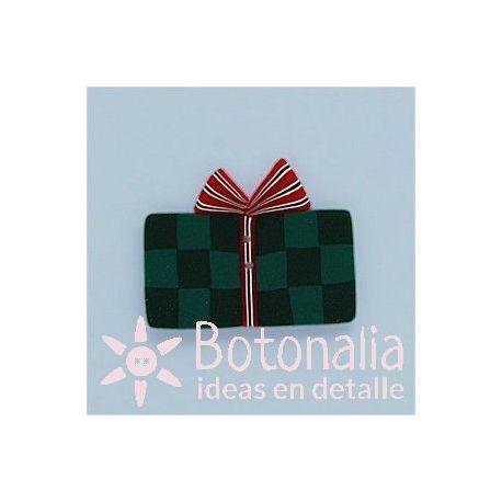 Paquete de regalo verde 31 mm