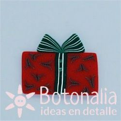 Wrapped present in red 31 mm