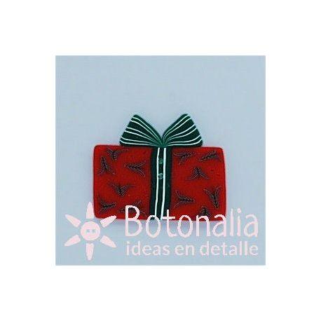 Paquete de regalo rojo 31 mm