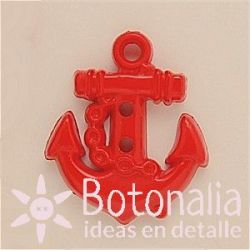 Anchor in red 25 mm