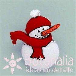 Muñeco de nieve 29 mm