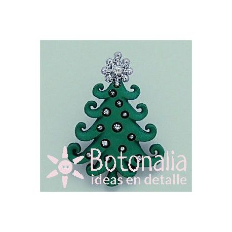 Fir tree decorated 38 mm