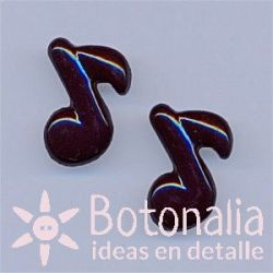 Corchea negra 18 mm