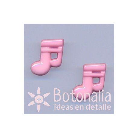 Doble corchea rosa 18 mm