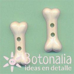 Bone in cream color 24 mm