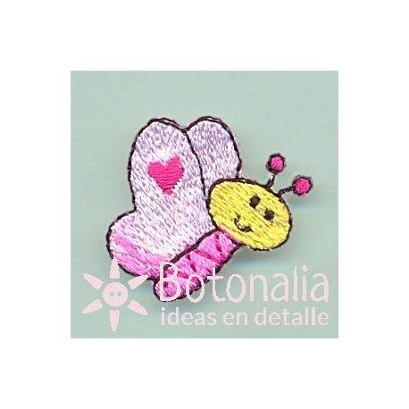 Little butterfly in pink