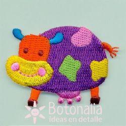 Multicolor cow