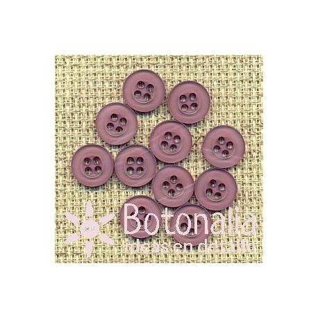 10 purple buttons 10 mm