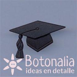 Birrete de graduación 29 mm